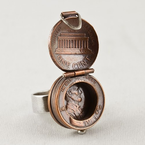 04-Abes Lucky-Locket-Ring-2-Coin-Pennies-&-Dimes-Sculptures-&-Accessories-Jewellery-Stacey-Lee-Webber-www-designstack-co