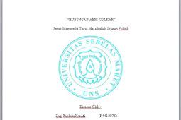 Makalah SEJARAH POLITIK Resume Jurnal HUBUNGAN ABRI-GOLKAR