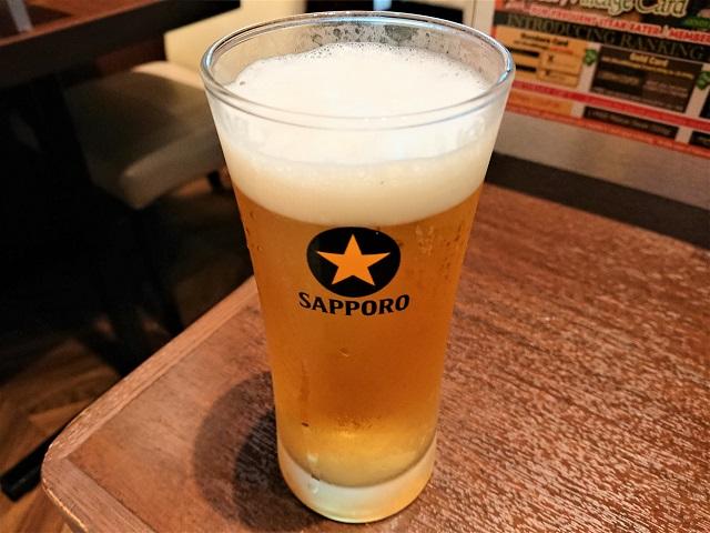 いきなりステーキ 佐倉店 ビール