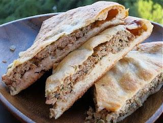 Осетинские пироги с мясом.