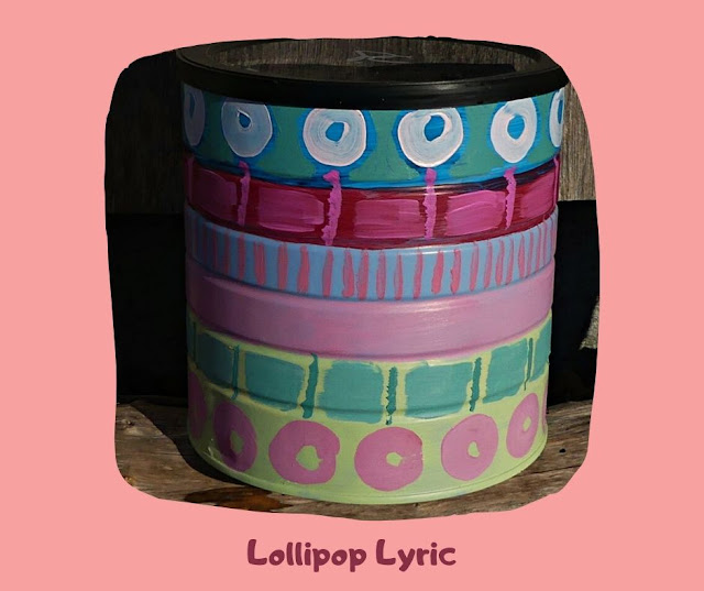 Lollipop Lyric Pot by Minaz Jantz