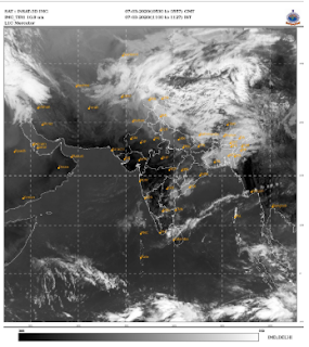 IMD Satellite Image