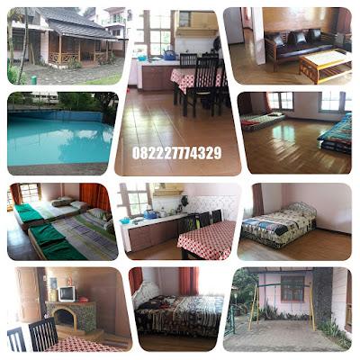 Villa 3 kamar kolam renang murah di lembang