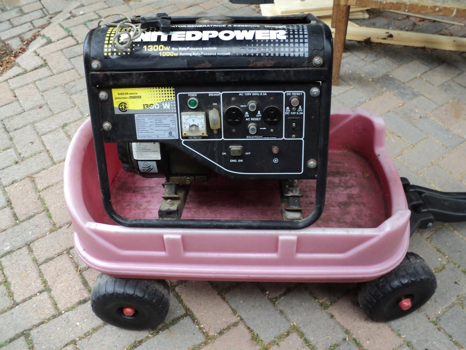 rouge river workshop a united power gg1300 generator rh rougeriverworkshop blogspot com