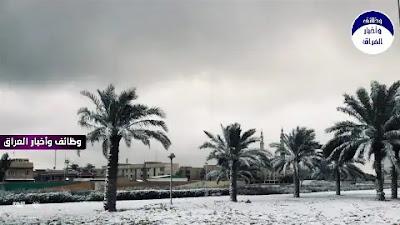 """حدد متنبئ جوي موعداً قريباً لإنتهاء الموجة الباردة التي يشهدها العراق حالياً والتي بدأ تأثيرها منذ يوم أمس.  وقال المتنبئ الجوي صادق العطية على صفحته بموقع فيس بوك إن """"الموجة الباردة ستسمر حتى الإثنين المقبل ثم تبدأ درجات الحرارة بالارتفاع التدريجي"""".  وأضاف أن """"التوقعات الجوية تشير إلى أمطار في في المنطقة الوسطة من البلاد وثلوج في المنطقة الشمالية نهاية الأسبوع المقبل""""."""