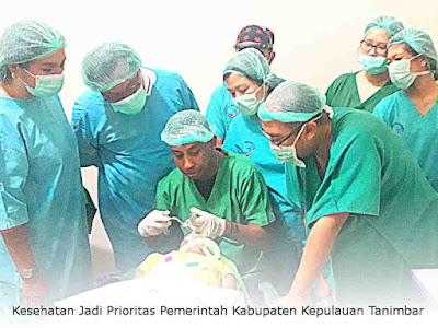 Kesehatan Jadi Prioritas Pemerintah Kabupaten Kepulauan Tanimbar