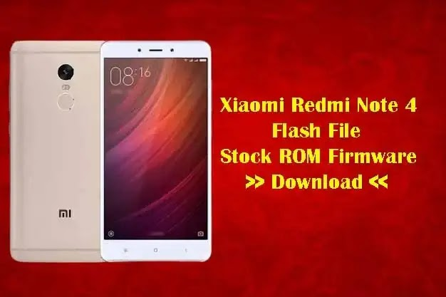 Mi Redmi Note 4 Flash File | Stock ROM Firmware