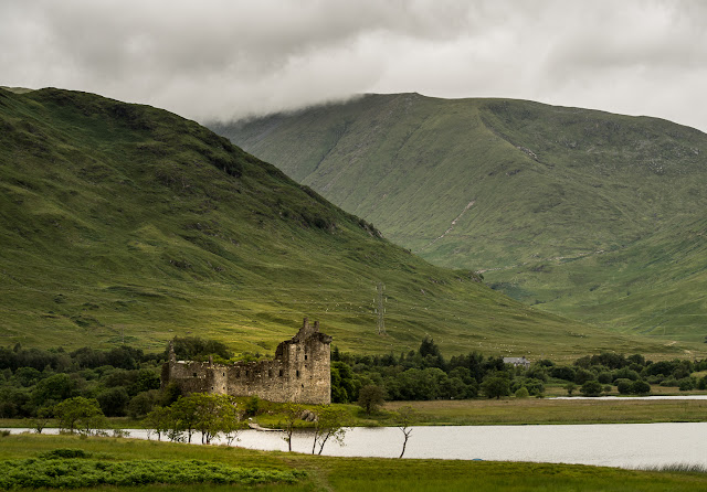Photo of Kilchurn Castle on Loch Awe