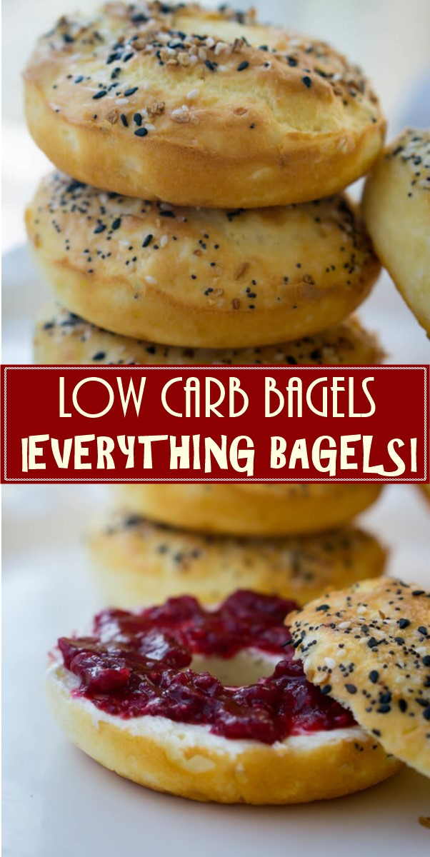 LOW CARB BAGELS | EVERYTHING BAGELS! #Breakfastideas