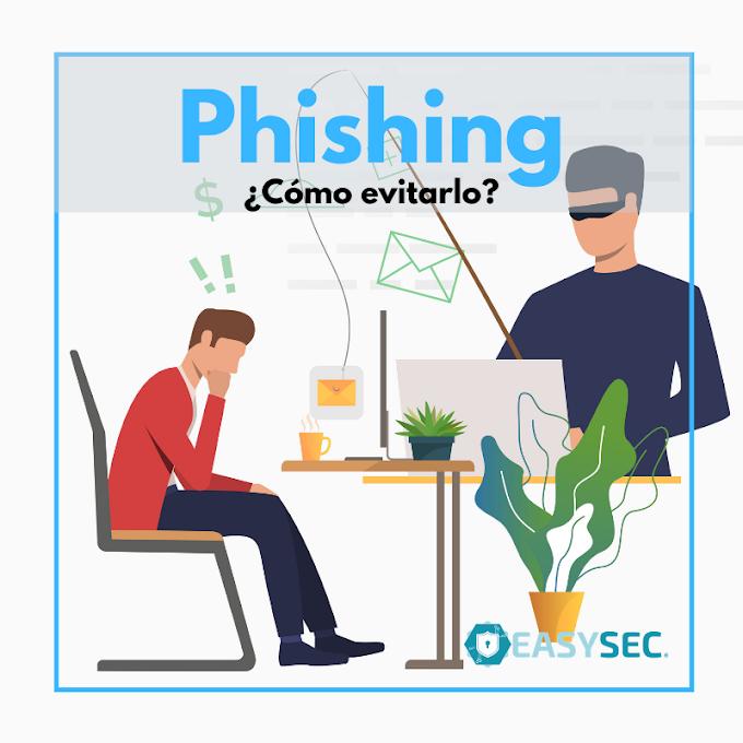 Como evitar un ataque de phishing