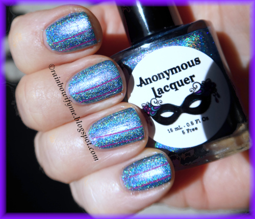 Anonymous Lacquer: Liberty Enlightning The World