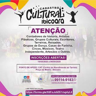 Ibicoara oferece cadastro para artistas receberem auxílio emergencial da Lei Aldir Blanc