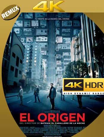 El origen (Inception) (2010) 4K REMUX 2160p UHD [HDR] Latino [GoogleDrive]