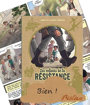 les enfants de la résistance ers dugomier blog avis critique chronique ado BD seconde guerre mondiale Pétain