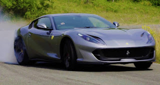 Ferrari 812 superfast front side view