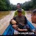 Rombongan Anak TK Nanga Lungu Silat Hulu, Karam Saat Menyeberangi Sungai