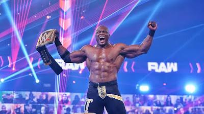 WWE Title Miz Lashley Bobby Hurt Business