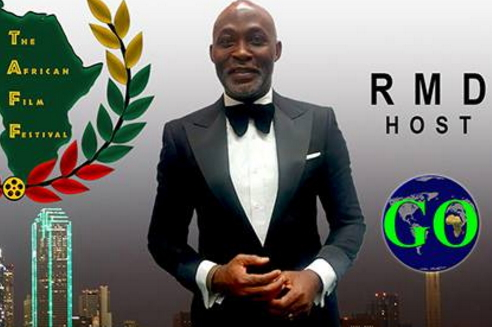 richard mofe damijo host TAFF2017