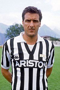 Gaetano Scirea spent most of his playing career with Juventus