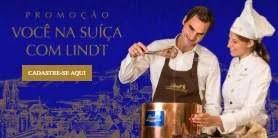 Cadastrar Promoção Lindt Chocolates 1 Ano Chocolate Grátis e Viagem Suíça
