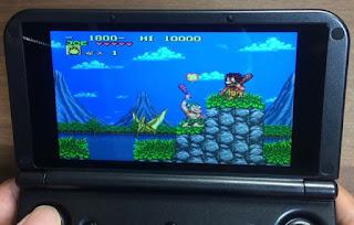 GPD XD plusのゲーム画面