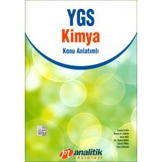 Pi Analitik Ygs Kimya Konu Anlatımlı 2012