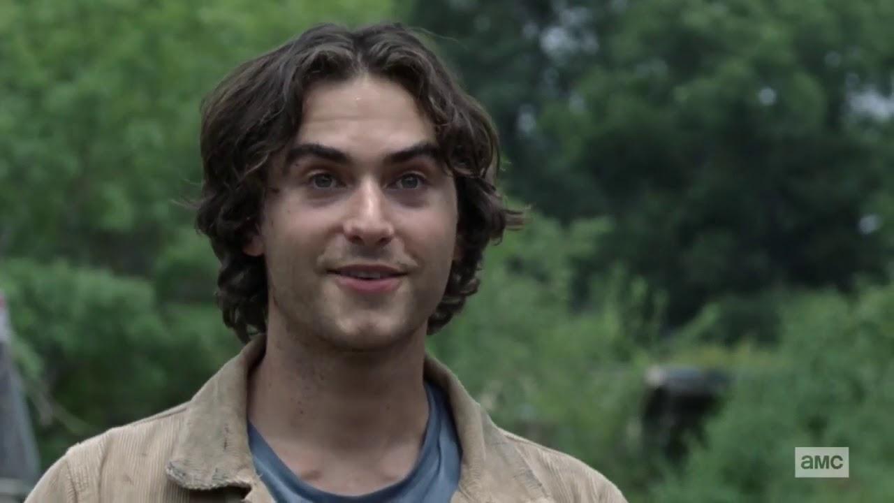 Brandon, en el episodio 10x05 de The Walking Dead