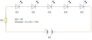 Cara Mudah Menghitung Resistor Untuk Lampu LED