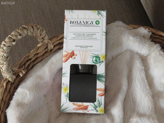 avis batonnets parfumes botanica