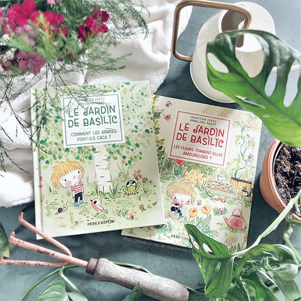 Le jardin de Basilic : Les fleurs tombent-elles amoureuses ? & Comment les arbres font-ils caca ?