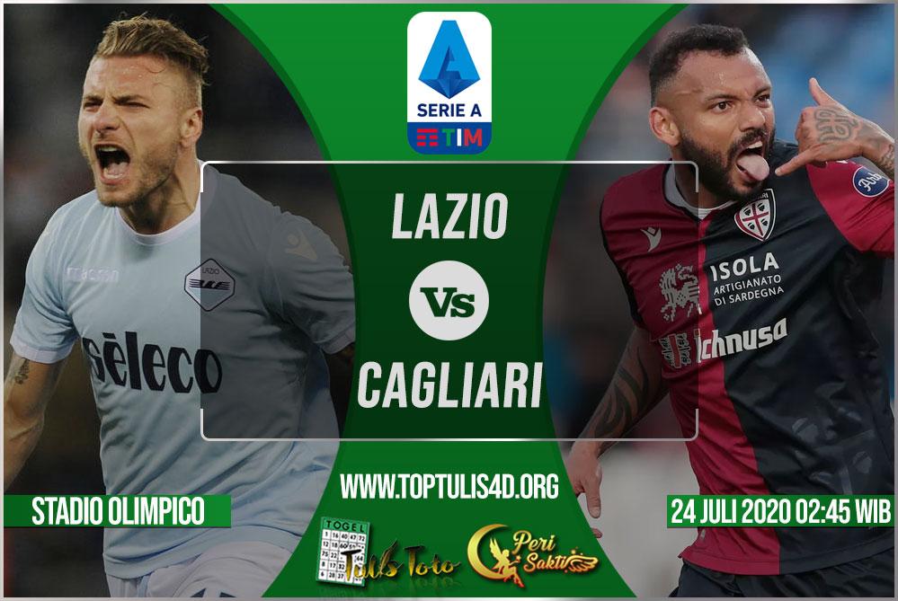 Prediksi Lazio vs Cagliari 24 Juli 2020
