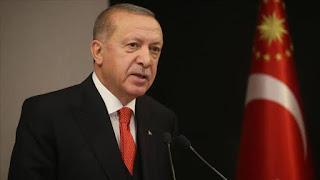 الرئيس رجب طيب إردوغان