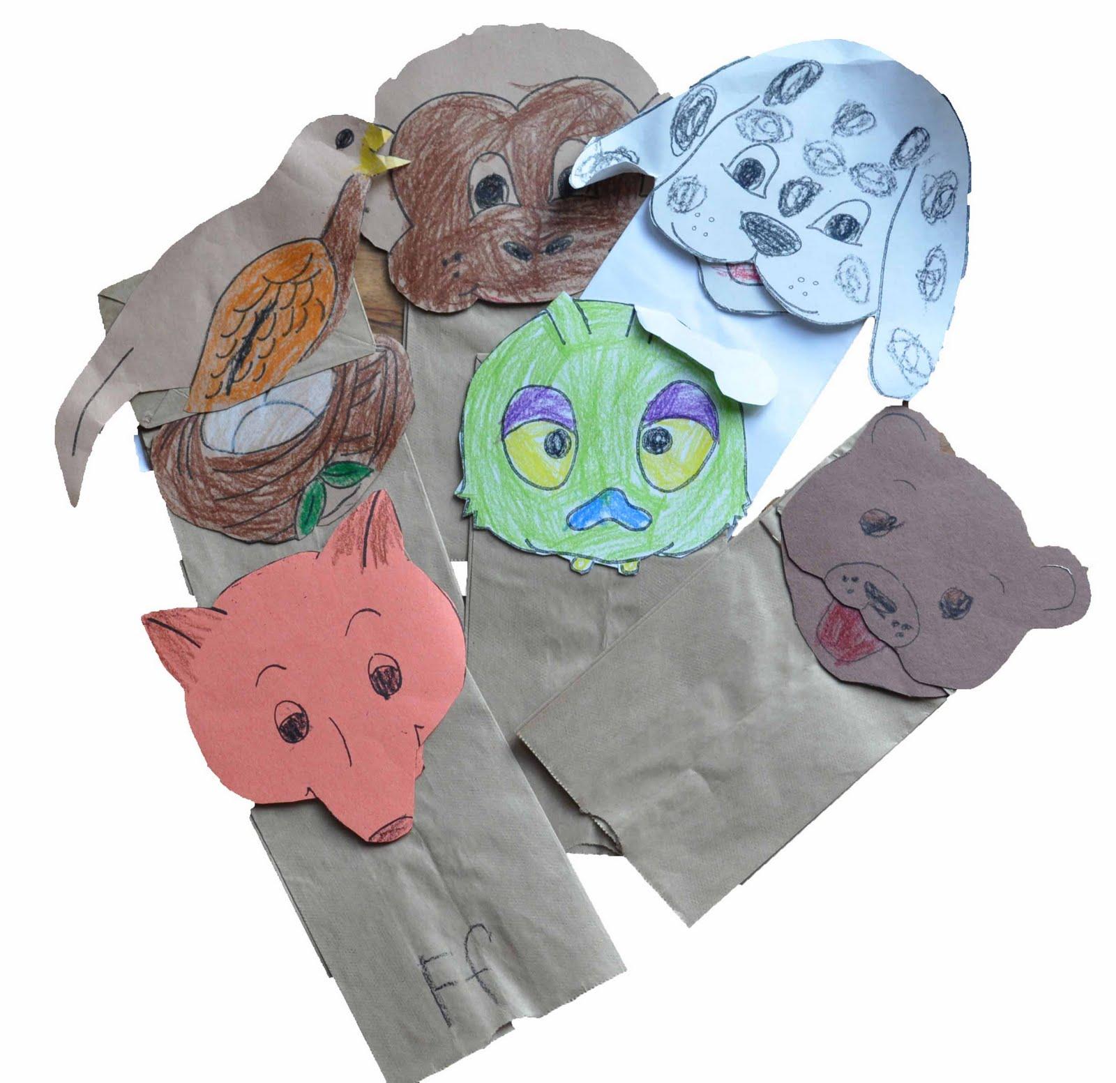 Fox Paper Bag Puppet Children S Learning Activities