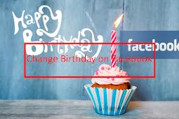 How Do U Change Ur Age On Facebook