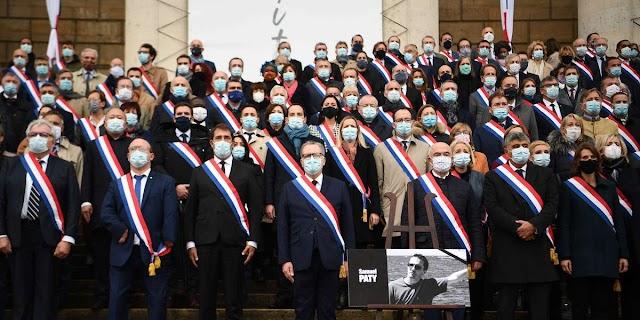 France: Une cérémonie nationale pour le professeur Samuel Patty à la Sorbonne