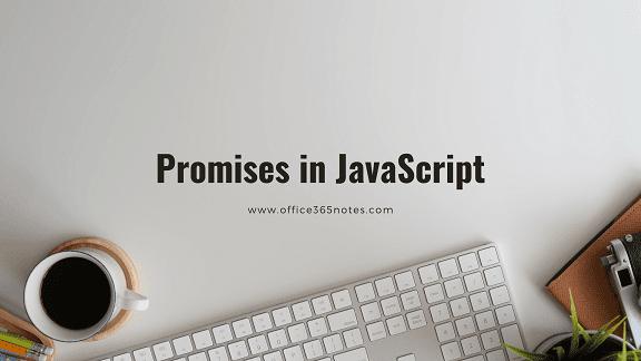 Promises in JavaScript
