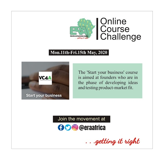 ONLINE COURSE CHALLENGE 2ND EDITION: Start Your Business