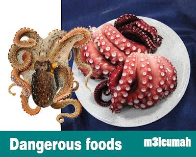 أخطر 4 أطعمة  أكلها البشر في العالم