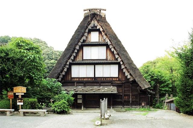 【博物館】傳統建築合掌屋 川崎市立日本民家園