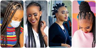 #Trending hairstyles for black ladies