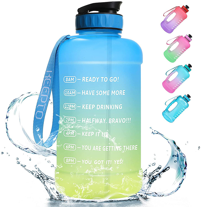 half gal water bottle