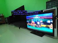 service tv polytron bsd serpong tangerang