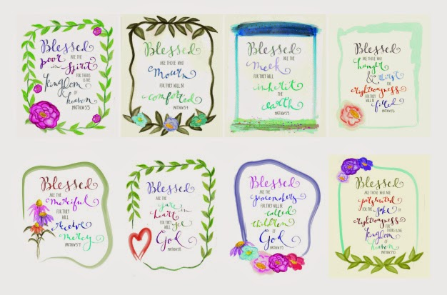 The Beatitudes For Kids Crafts