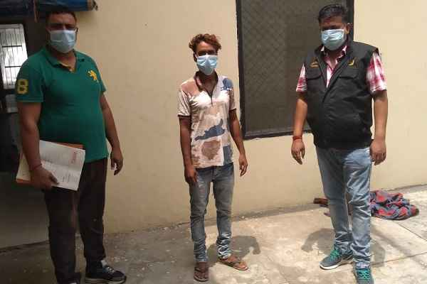 faridabad-sector-48-crime-branch-arrested-loha-scrap-chor-news