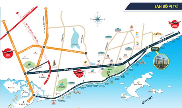 Giao thông kết nối thuận tiện tại Bình Châu