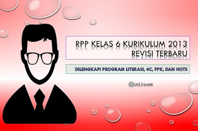 Download RPP SD/MI Kelas 6 Kurikulum 2013 Revisi 2018