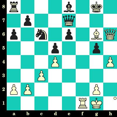 Les Blancs jouent et matent en 2 coups - Milunka Lazarevic vs Leif Svensson, Skopje, 1972