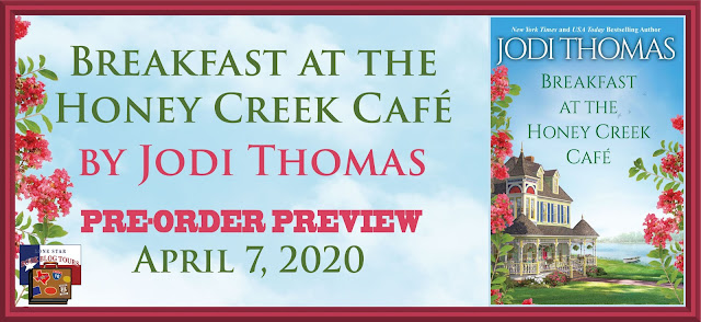 Breakfast at the Honey Creek Café book blog tour promotion banner