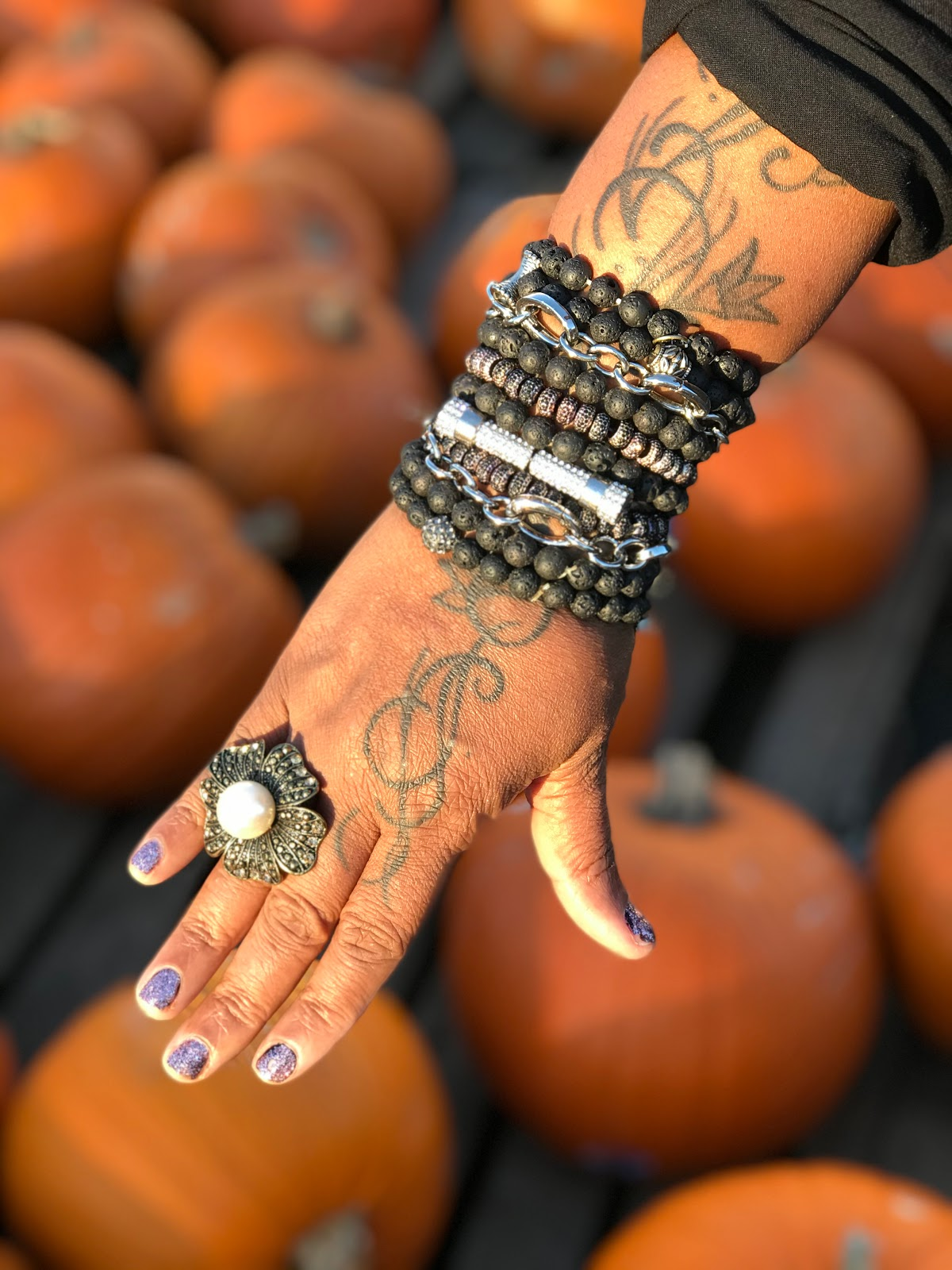 Tangie Bell shares how she uses bracelets to spice up her forty-something style