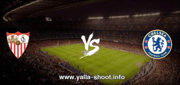 نتيجة مباراة تشيلسي واشبيلية اليوم الثلاثاء 20-10-2020 يلا شوت الجديد في دوري أبطال أوروبا